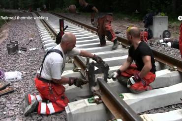 Hàn hóa nhiệt cho đường Rail tàu