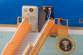 Tổng thống Mỹ Donald Trump đến Đà Nẵng