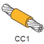 Khuôn hàn nối thẳng cáp và cáp CC1